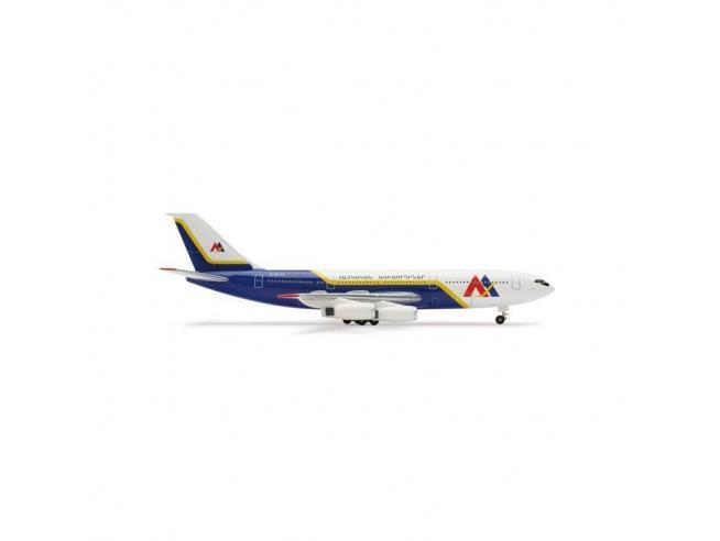 Herpa 515375 Armenian Airlines Ilyushin IL-86 1:500 Aereo Modellino