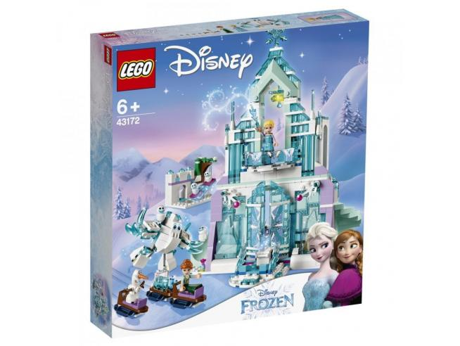 LEGO DISNEY PRINCESS FROZEN 43172 - IL MAGICO CASTELLO DI GHIACCIO DI ELSA