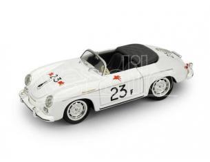 Brumm BM0117B PORSCHE 356 SPEEDSTER N.23F PALM SPRINGS ROAD RACE 1955 JAMES DEAN 1:43 Modellino