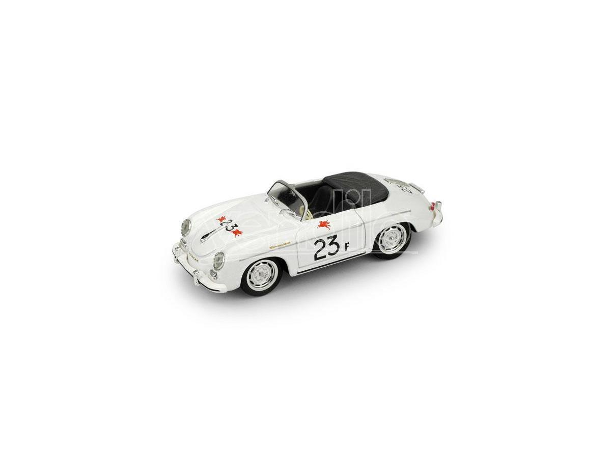 Brumm BM0117B PORSCHE 356 SPEEDSTER N.23F PALM SPRINGS ROAD RACE 1955 JAMES DEAN 1:43 Modellino