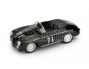 Brumm BM0117C PORSCHE 356 SPEEDSTER N.71 RIVERSIDE 1959 STEVE MC QUEEN 1:43 Modellino