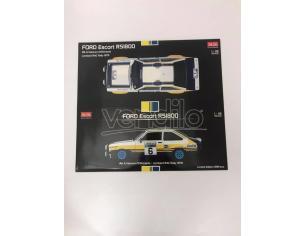 Scatola per Sun Star 4453 Ford Escort RS1800 1:18