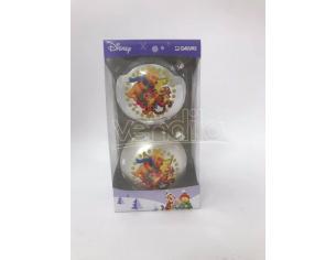 Set 2 Palline argento Winnie Pimpi e Tigro Decorazioni Disney Winnie The Pooh