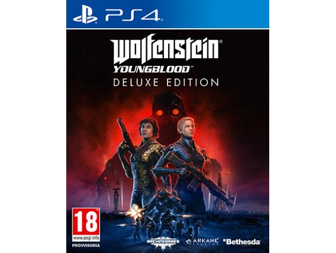 WOLFENSTEIN: YOUNGBLOOD DELUXE EDITION SPARATUTTO - PLAYSTATION 4