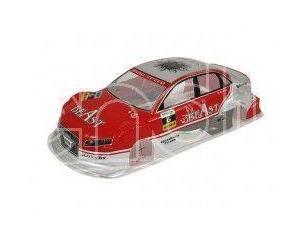 Radio Kontrol Imax Q321058 Plastico Carrozzeria Audi rossa 1:10