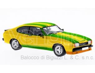 Neo Scale Models NEO46106 FORD CAPRI MKII X-PACK YELLOW/GREEN 1:43 Modellino