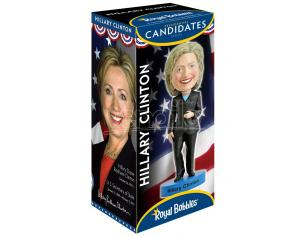 ROYAL BOBBLES HILLARY CLINTON 2016 HK HEADKNOCKER