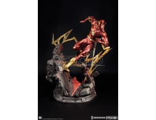 SIDESHOW TOYS JUSTICE LEAGUE NEW 52 THE FLASH ST STATUA