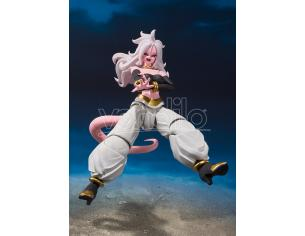 BANDAI DRAGON BALL FIGHTER Z ANDROID 21 S.H.F ACTION FIGURE