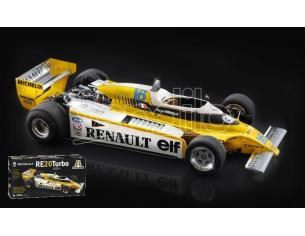 Italeri IT4707 RENAULT RE20 TURBO F1 KIT 1:12 Modellino
