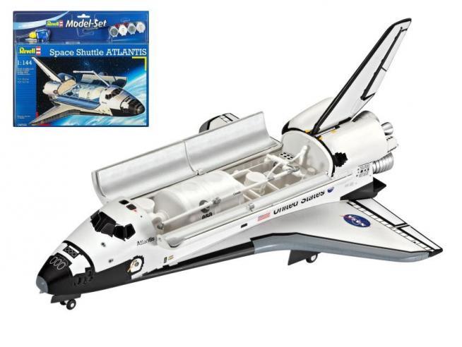 Revell RV04544 SPACE SHUTTLE ATLANTIS KIT 1:144 Modellino