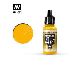 VALLEJO MODEL AIR MEDIUM YELLOW 71002 COLORI