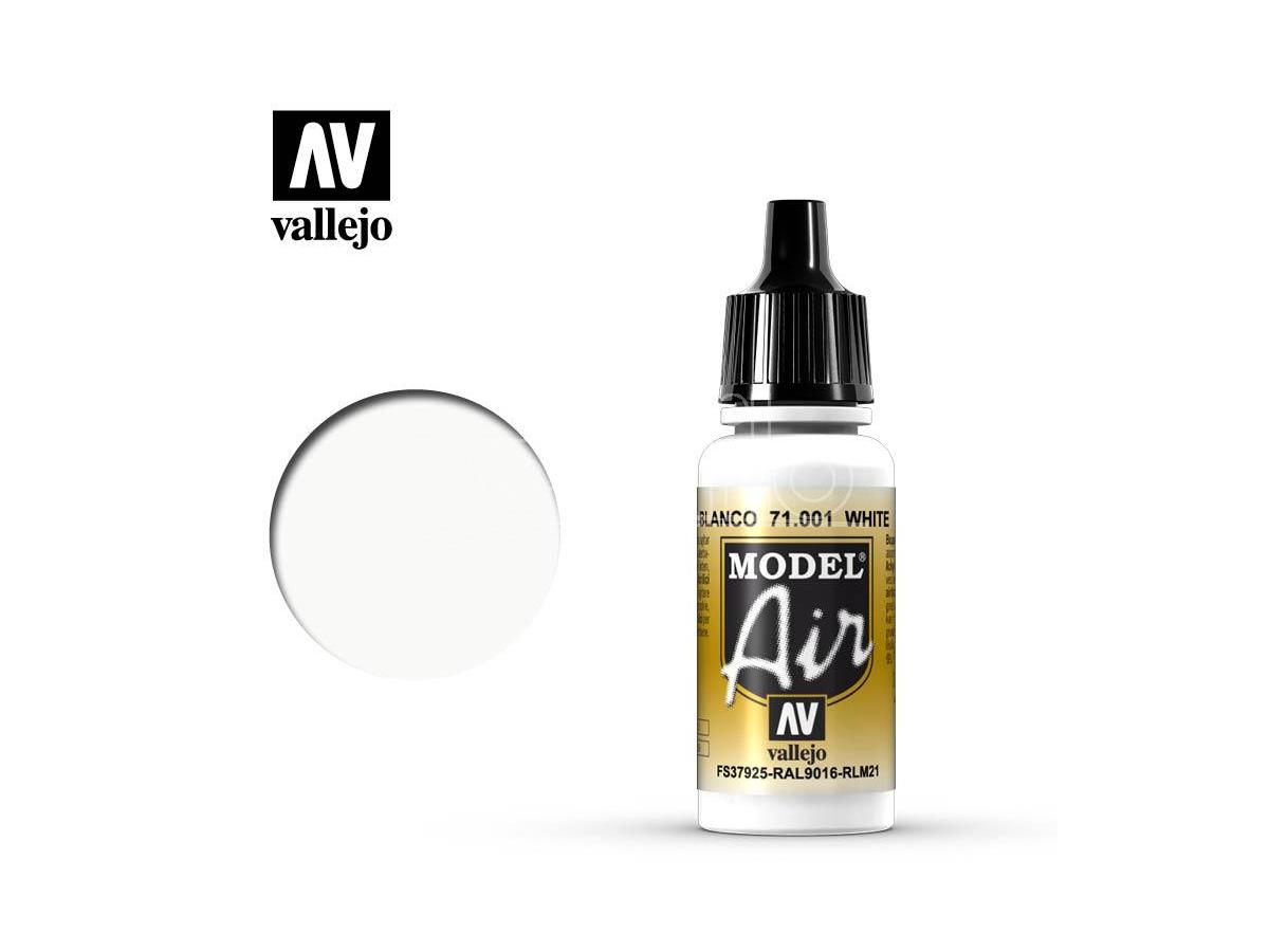 VALLEJO MODEL AIR WHITE 71001 COLORI