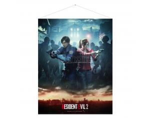 GAYA ENTERTAINMENT RESIDENT EVIL 2 LEON & CLAIRE WALLSCROLL POSTER