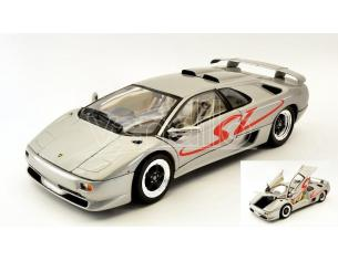 Welly WE19849S LAMBORGHINI DIABLO SV SILVER 1:18 Modellino