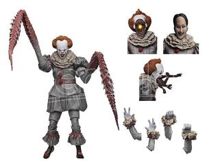 NECA IT ULTIMATE DANCING CLOWN PENNYWISE ACTION FIGURE