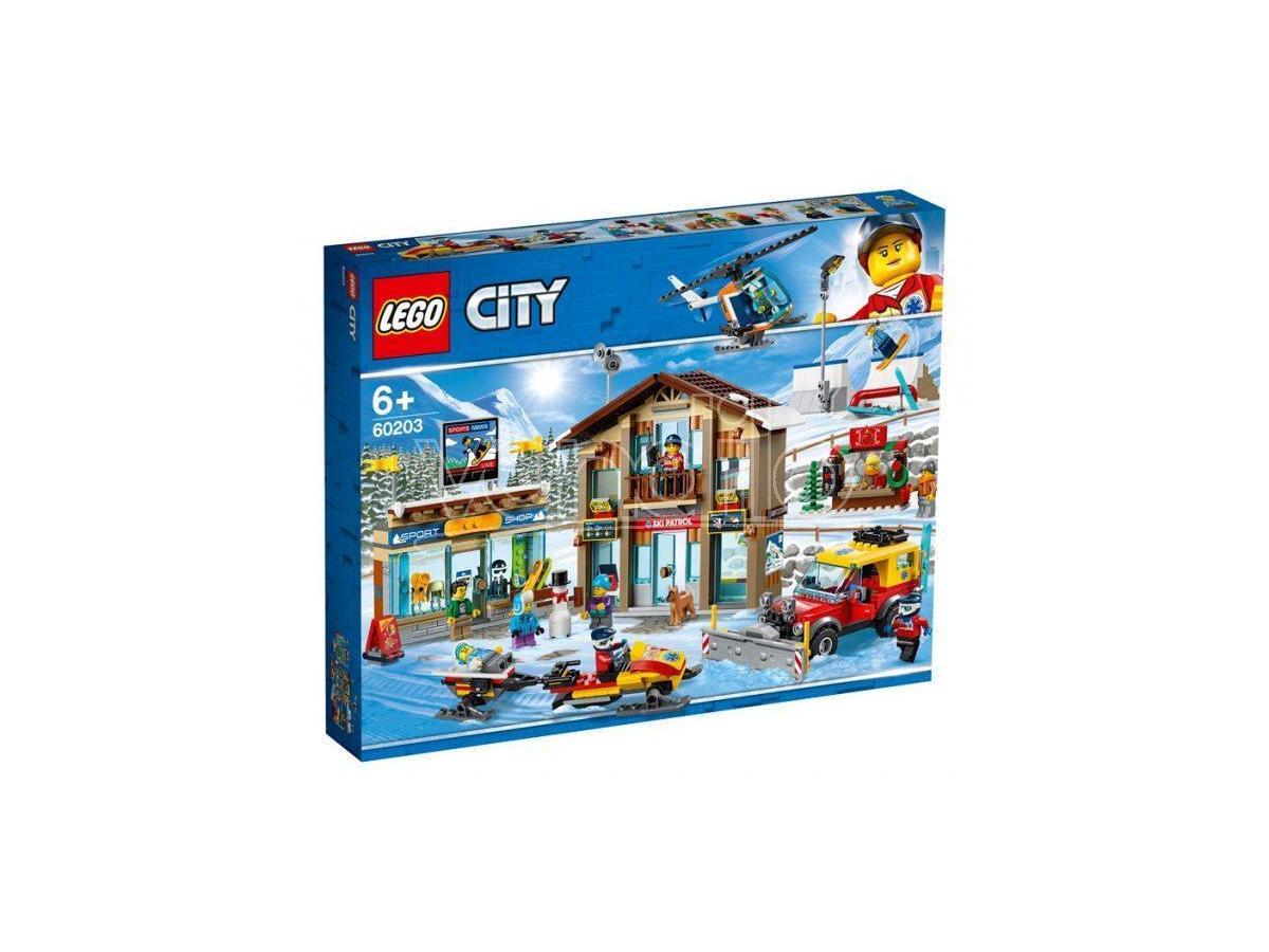 LEGO CITY TOWN 60203 - STAZIONE SCIISTICA