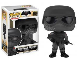 Funko Batman vs Superman POP Heroes Vinile Soldato Superman 9cm Scatola rovinata