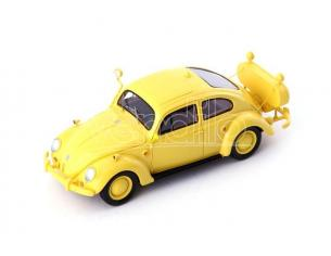 Autocult ATC12007 VW KAFER FOLLOW ME BERLIN-TEMPELHOF 1954 YELLOW 1:43 Modellino