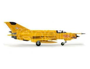 Herpa 553889 Hungarian Air Force Sky Hussars Aerobatic Mikoyan MiG-21bis 1:200