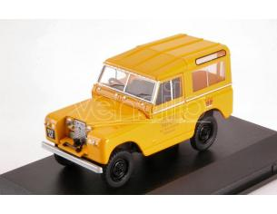 Oxford OXF43LR2S004 LAND ROVER SERIES II SWB HARD TOP POST OFFICE TELEPHONES YELLOW 1:43 Modellino