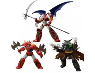 BANDAI SHOKUGAN SUPER MINIPLA GETTER ROBOT S.2 SET (3) MINI FIGURA
