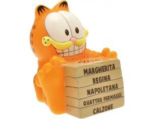 PLASTOY GARFIELD WITH A PIZZA MINI BANK SALVADANAIO