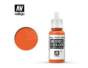 VALLEJO MC 024 BRIGHT ORANGE 70851 COLORI