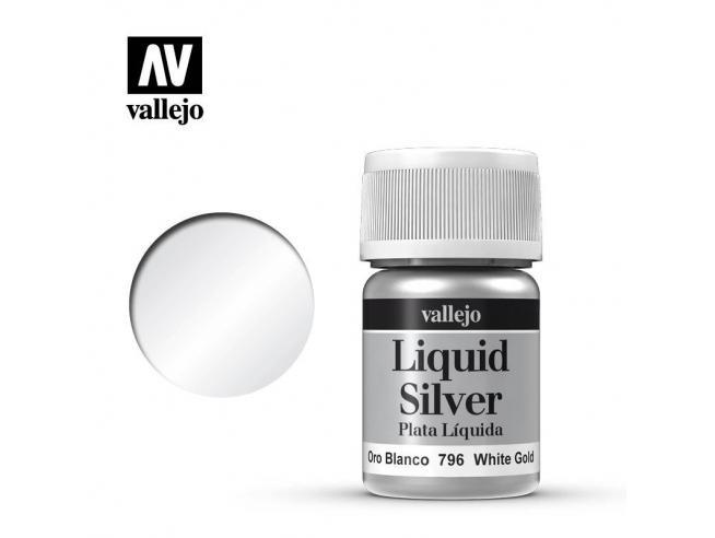 VALLEJO MODEL COLOR LIQUID WH GOLD ALCOHOL 70796 COLORI