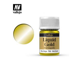 VALLEJO MODEL COLOR LIQUID OL GOLD ALCOHOL 70792 COLORI