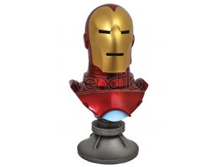 DIAMOND SELECT LEGENDS 3D MARVEL IRON MAN 1/2 BUST BUSTO