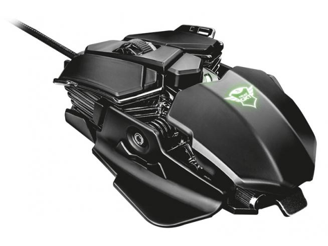 TRUST GXT 138 X-RAY ILLUMINATED G. MOUSE E TASTIERE