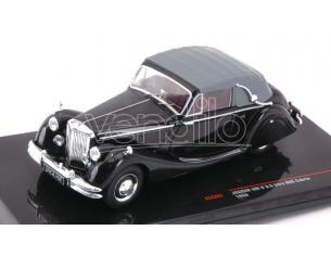 Ixo model CLC287 JAGUAR MK V 3.5 LITRE DHC CABRIO BLACK 1950 1:43 Modellino