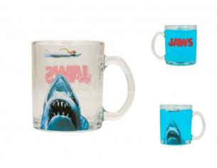 SD TOYS JAWS TRANSPARENT MUG TAZZA