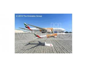 Herpa HP612357 BOEING 777-300ER EMIRATES EXPO 2020 OPPORTUNITY LIVERY 1:200 Modellino