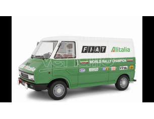 LAUDO RACING LM107A2 FIAT 242 ASSISTENZA LANCIA 1977 1:18 Modellino
