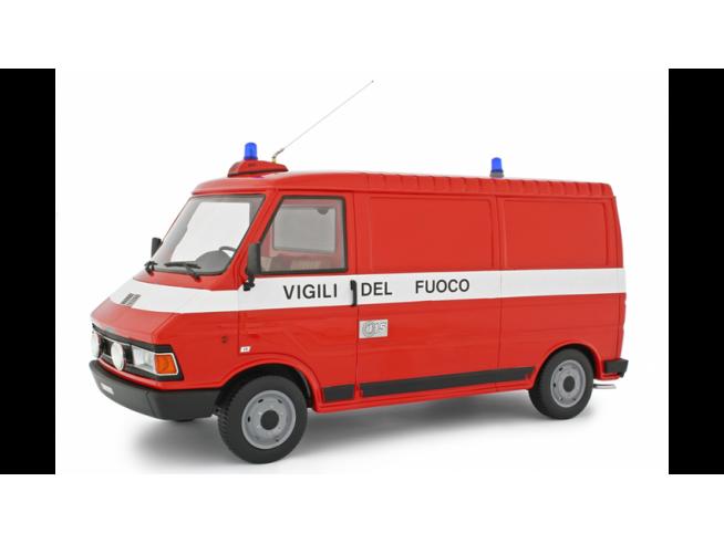 Ixo model LM107BVF FIAT 242 VIGILI DEL FUOCO 1984 1:18 Modellino