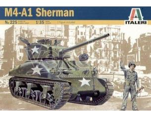 Italeri IT0225 M4 SHERMAN KIT 1:35 Modellino