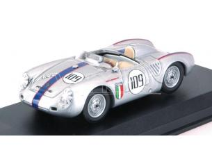 Best Model BT9756 PORSCHE 550 RS N.109 4th NASSAU MEM.TROPHY RACE 1957 R.RODRIGUEZ 1:43 Modellino