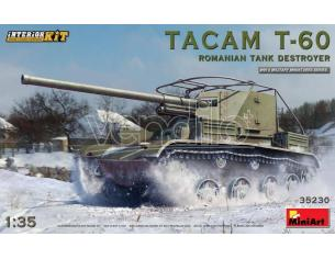 Miniart MIN35230 TACAM T-60 ROMANIAN TANK DESTROYER INTERIOR KIT 1:35 Modellino