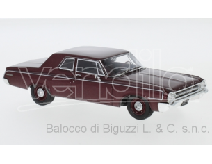 Neo Scale Models NEO47223 DODGE 330 SEDAN 1964 MET.DARK RED 1:43 Modellino