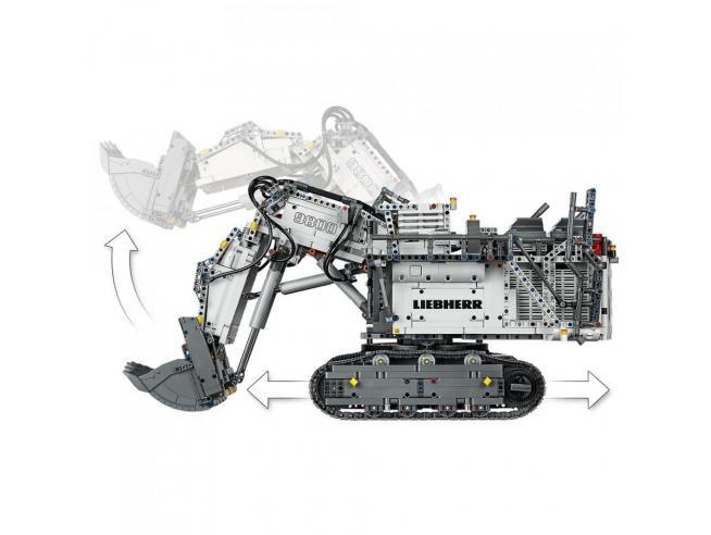 LEGO TECHNIC 42100 - ESCAVATORE LIEBHERR R 9800