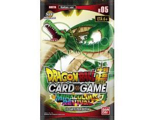 DRAGONBALL SUPER CARDGAME BUSTE PACK 5 - CARTE DA GIOCO/COLLEZIONE