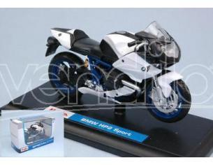 Maisto MI08010W BMW HP2 SPORT WHITE 1:18 Modellino