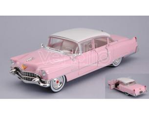 Greenlight GREEN84092 CADILLAC FLEETWOOD SERIES 60 1955 ELVIS PRESLEY 1935-1977 PINK 1:24 Modellino