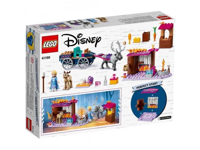 LEGO DISNEY PRINCESS FROZEN 2 41166 - L'AVVENTURA SUL CARRO DI ELSA