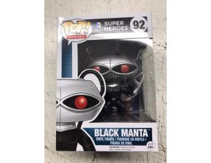 Funko Super Heroes POP DC Comics Vinile Figura Black Manta 9 cm Damaged
