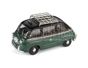 Brumm BM0334 FIAT 600 MULTIPLA TAXI MILANO 1960 1:43 Modellino