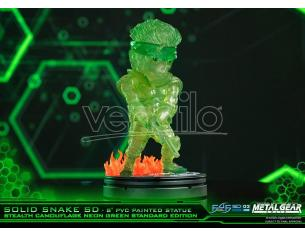 FIRST4FIGURES MGS SOLID SNAKE STEALTH NEON SUPERDEF ST STATUA