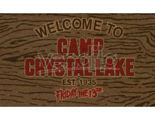 SD TOYS FRIDAY 13TH CAMP CRYSTAL LAKE DOORMAT ZERBINO